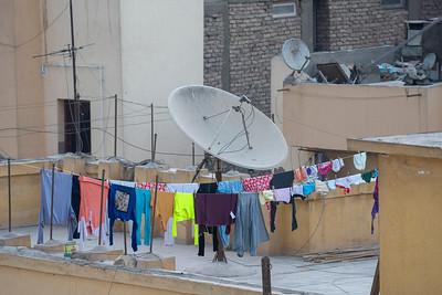 Satellite laundry