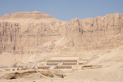 At the Mortuary Temple of Hatshepsut, March 19, 2019