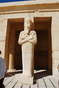 Statue at the Mortuary Temple of Queen Hatshepsut