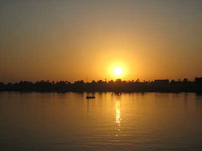 Yet another sunset over the Nile shot.