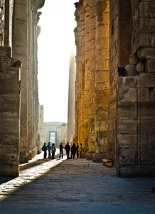 Jan. 14. 2013. The Karnak Temple complex.