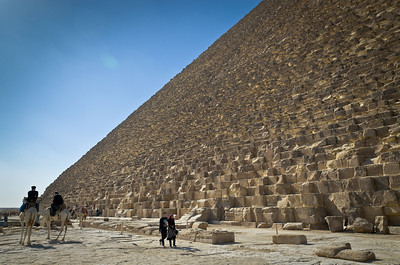 Jan. 13. 2013. The Great pyramids of Giza.