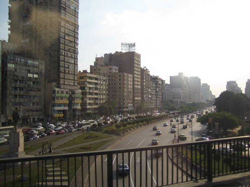 b1) The streets of Cairo