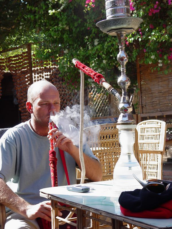 h) Tony our Great Leader, the sheesha master.