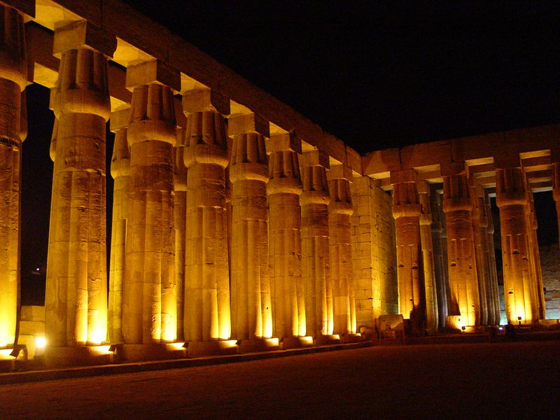 j) The Hypostyle Hall