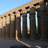 The Colonnade of Amenophis III at Luxor Temple.
