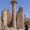 The single papyriform pillar from the Kiosk of Taharqa