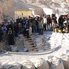 The day we were in the Valley of the Kings they officially opened up KV 63 (first tomb found since the finding of King Tut's tomb) to the press. These people were here to take pictures/films.