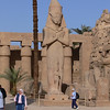 A Colossus of Ramses II beside the vestibule to the Second Pylon at Karnak