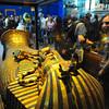 Cairo Museum, King Tut's coffin