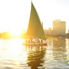 Cairo, Felucca on the Nile