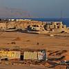 Tiran Island from our hotel in Sharm-el-Sheikh, Sinai, Egypt, at Shark Bay -