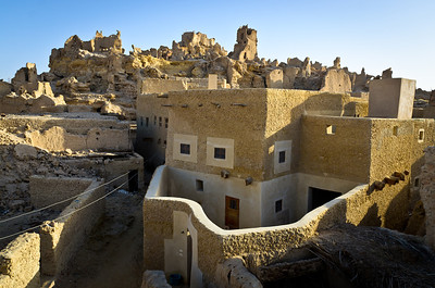 Jan. 22, 2013. Morning view of Siwa from our terrace.
