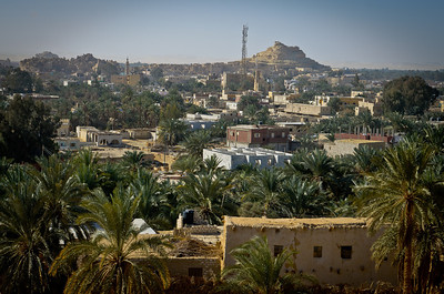 Jan. 22, 2013. We went to visit the Mountain of the Dead with our day guide, Rahim. A view of the town below.