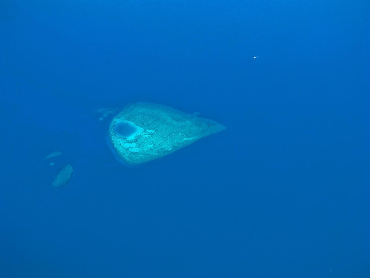 A small island in the Gulf of Aqaba.