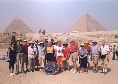 2009-10 Egypt-group at sphinx