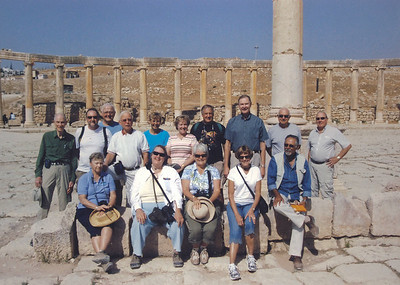 2009-10 Jordan - group at Gerash