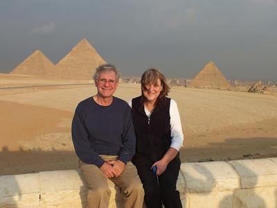 The three main Pyramids of Giza
