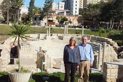 Alexandria  Roman Theater --- at the site of Kom el-Dikka