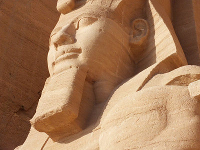 Abu Simbel close to Aswan