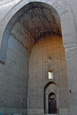 sultan hassan mosque iwan