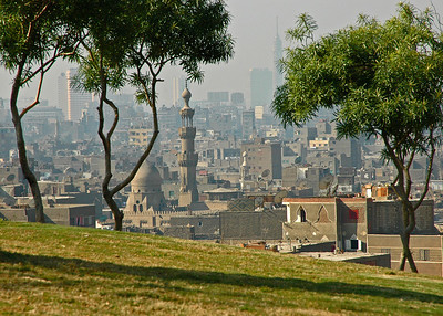 cairo from al-azhar park