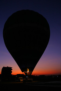 Early the next morning, Anisa and I went for a balloon ride at surise.  We crossed the Nile and went to the Valley of the Kings and got into a hot air balloon with about 20 other people.  It was awesome.  Anisa was a little afraid of the gas burner but if we got any further from it we would have fallen out of the basket.