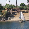 Going down the river Nile 10/9/04. From the top deck of the boat.