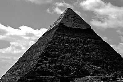 The great pyramid of Gizeh