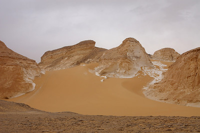 But the pushing part was worth it - we drove down that sand dune afterwards in order to get to El Agabat