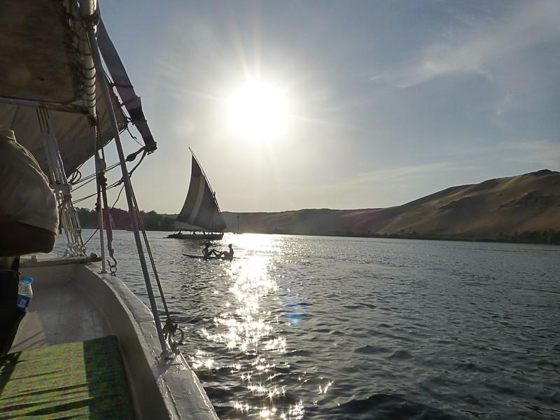The Nile, Aswan