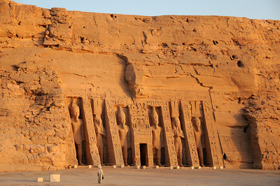 The Hathor temple for Ramses II's wife Nefertari