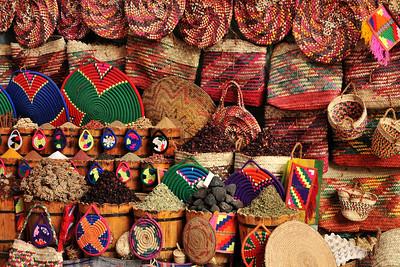 Souq in Aswan.
