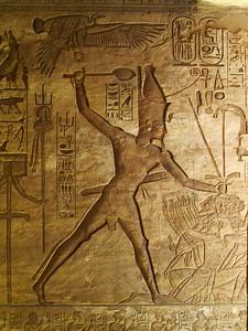 Ramses II is seizing his enemies...