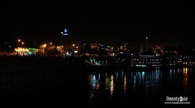 The port of Aswan