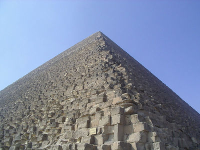 Cheops Pyramid.