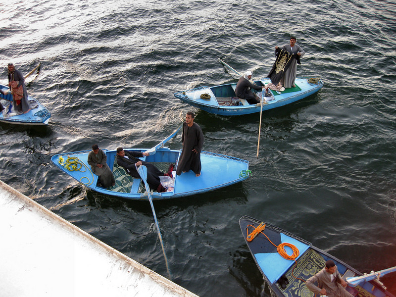 Traders on the Nile