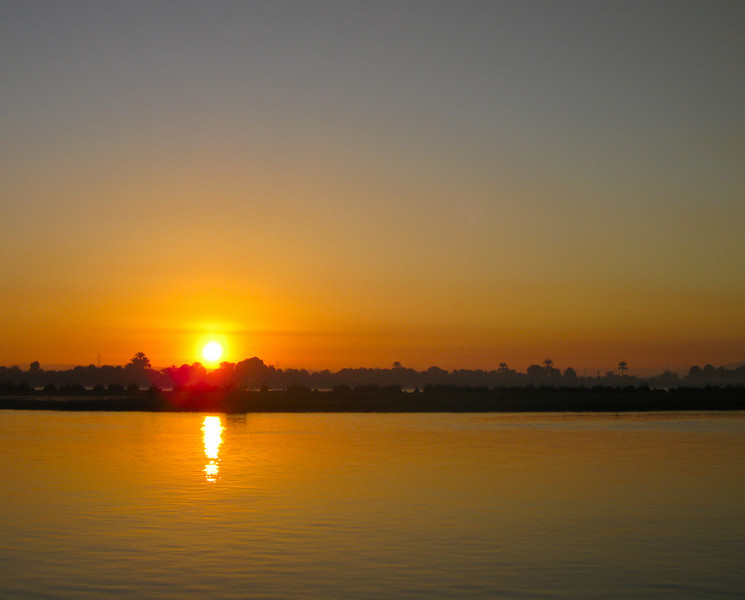 River Nile at sunrise