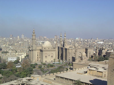 The oldest Mosque in Cairo.