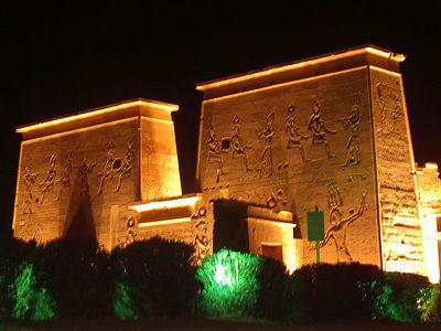 Philae Temple in Aswan.