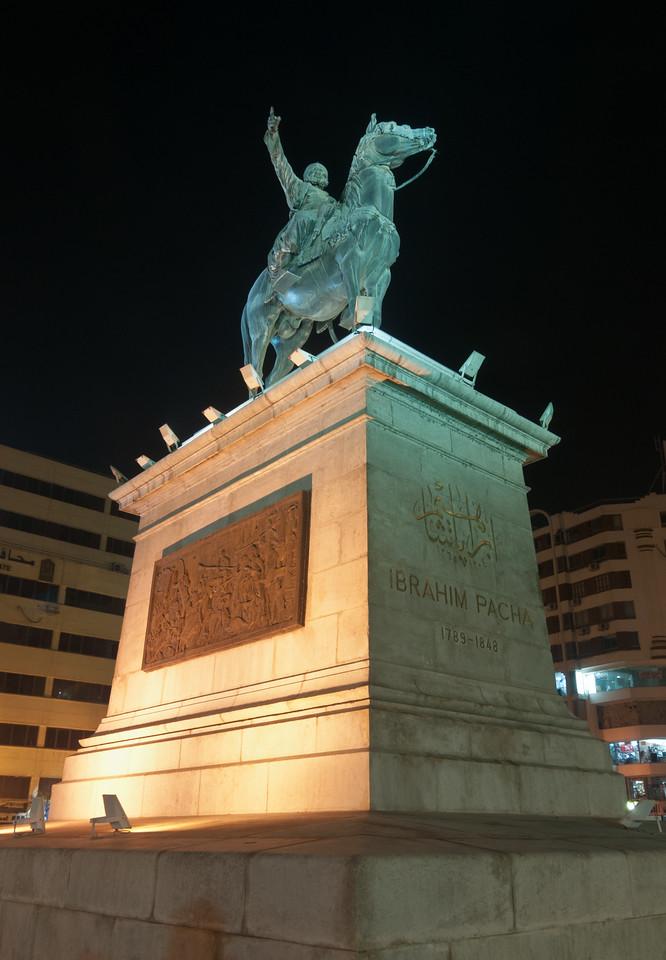Ibrahim Pasha Statue, Cairo, Egypt