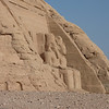 Side view of theTemple of Re-Harakhte (dedicated to the triad Amon-Ra, Ptah and Ra-Harakhte.