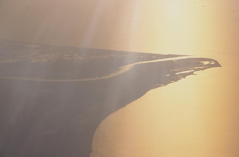 001  Uitloper Nijldelta vanuit vliegtuig