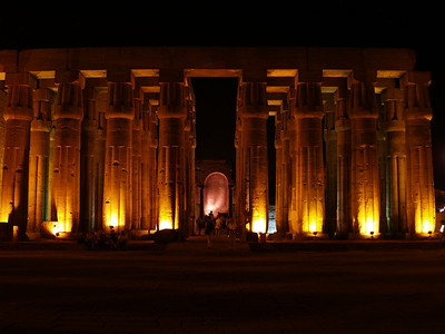 April 2,2011 This was an amazing place, especially at night. Egypt. Luxor Temple.