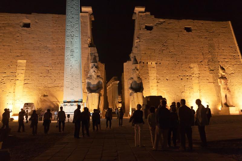 Luxor Temple dedicated to God Amun