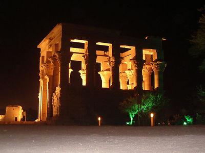 Temple at Philae.