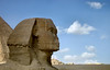 Great Sphinx, Giza. A reclining lion with human head, the largest monolith statue in the world and the oldest known monumental sculpture.