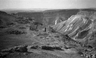Sinai Mountainside ruins