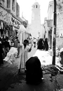 Street vendor in Karnak.