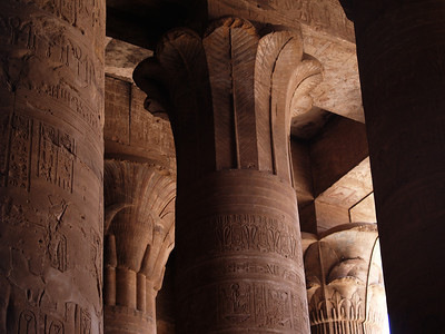 March 30, 2011. Egypt. Edfu Temple.